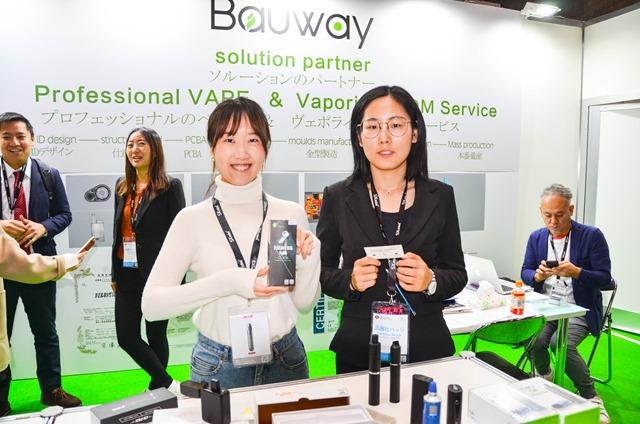 vapeexp d4 ShenzhenBauwayTL003 0330 thumb - 【EXPO】ブース紹介:C5-5 Geekvape(ギークベイプ)、F2-3 Apocalypse(アポカリプス)、C6-2+C6-3 OVO Manufacturing(オッボ)、D4 CigGo/Bauway(シグゴ・バウウェイ)、D5-1 VAPONAVI(ベポナビ)【VAPE EXPO JAPAN 2018】