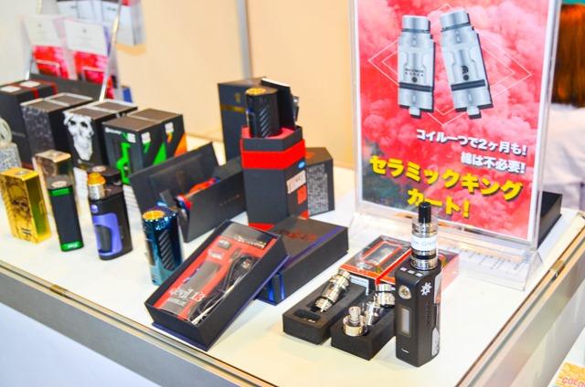 vapeexpc5 3 MKCAMP003 0330 thumb - 【EXPO】ブース紹介:B6-4 ADVKEN(アドビケン)、C5-1 XTAR(エクスター)、E4 Clicker(クリッカー)&Fat Panda(ファットパンダ)、A5-4-B5-1 Hangsen(ハンセン)、C5-3 MK CAMP(エムケーキャンプ)【VAPE EXPO JAPAN 2018】
