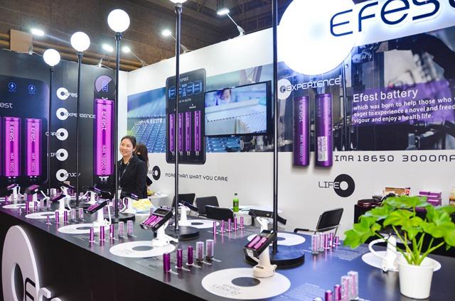 vapeexpc6 5 6 EFEST005 0330 thumb - 【EXPO】ブース紹介:G2-2 SKE(エスケーイー)、C6-5+C6-6 EFEST(イーフェスト)、F1-5 HILIQ(ハイリク)、D6-1 Yukan(ユカン)【VAPE EXPO JAPAN 2018】