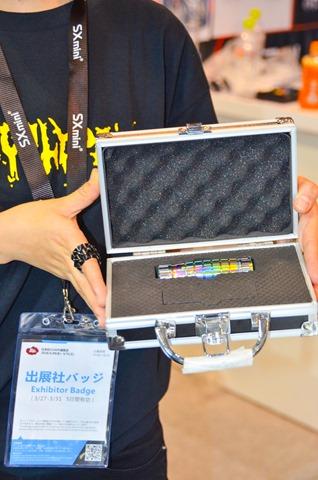 vapeexpf2 3 Apocalypse012 0330 thumb - 【EXPO】ブース紹介:C5-5 Geekvape(ギークベイプ)、F2-3 Apocalypse(アポカリプス)、C6-2+C6-3 OVO Manufacturing(オッボ)、D4 CigGo/Bauway(シグゴ・バウウェイ)、D5-1 VAPONAVI(ベポナビ)【VAPE EXPO JAPAN 2018】