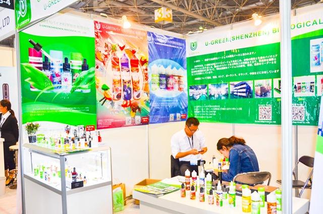 vapeexpf6 4 U green007 0330 thumb - 【EXPO】ブース紹介:F3-1 ITSUWA&VAPESOUL、F5-1 ayi(TRIOOTECH)、F6-4 U-GREEN、F2-4 Wotofo、F7-1-2 ELIQUID FRANCE【VAPE EXPO JAPAN 2018】