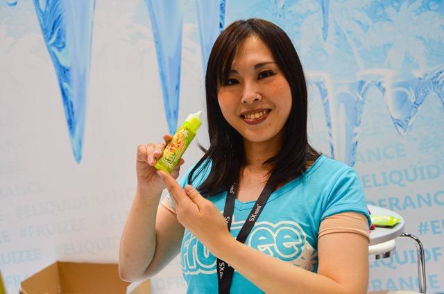 vapeexpf7 1 2 elqidfrance005 0330 thumb - 【EXPO】ブース紹介:F3-1 ITSUWA&VAPESOUL、F5-1 ayi(TRIOOTECH)、F6-4 U-GREEN、F2-4 Wotofo、F7-1-2 ELIQUID FRANCE【VAPE EXPO JAPAN 2018】