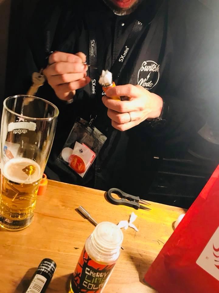 31648254 10208885019841221 2343255859443793920 n - 【レビュー】Switch Mods JAPAN PopUPで日本限定メカニカルチューブモッドゲット!!【メカニカルMOD/ハイブリッド/VAPE/電子タバコ】