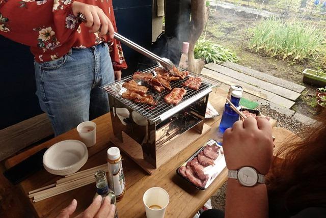 38591 thumb - 【秘密基地】美女と野獣のBBQパーティ in MIF GARAGE!!尾上製作所のフォールディングBBQコンロレビューしつつ、肉を焼き、酒を飲む!そこからVAPING&FARMINGでにさん