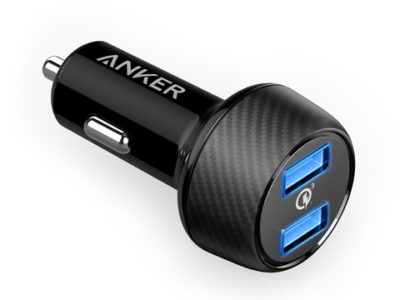 71uy2ZXZSoL. SL1500 thumb 400x300 - 【レビュー】車載用のANKER QUICK Charge 3.0対応「Anker PowerDrive Speed 2」シガーソケットアダプタ、極太3A対応Type-Cケーブル「Anker PowerLine+」、Thunderboltとか3台同時3A充電できるケーブル買ってみた同時開けてみたレビュー?【ガジェット系】