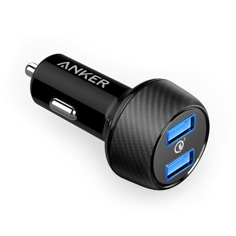 71uy2ZXZSoL. SL1500 thumb - 【レビュー】車載用のANKER QUICK Charge 3.0対応「Anker PowerDrive Speed 2」シガーソケットアダプタ、極太3A対応Type-Cケーブル「Anker PowerLine+」、Thunderboltとか3台同時3A充電できるケーブル買ってみた同時開けてみたレビュー?【ガジェット系】