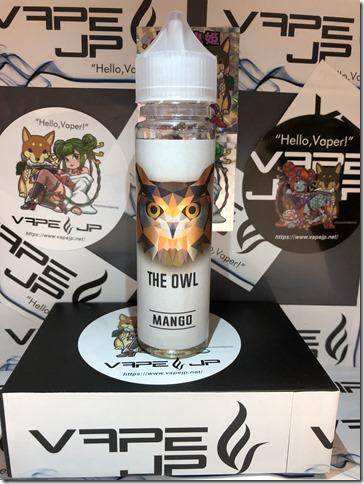 IMG 0208 thumb - 【レビュー】Gravy E-juice THE OWL(MANGO)(クレービー・イージュース ザ・オウルマンゴー)~激ウママンゴー…あれさえ…あれさえなければ(ΦдΦ)編~【リキッド】