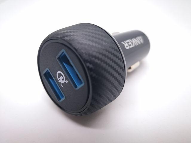 IMG 20180510 120540 thumb - 【レビュー】車載用のANKER QUICK Charge 3.0対応「Anker PowerDrive Speed 2」シガーソケットアダプタ、極太3A対応Type-Cケーブル「Anker PowerLine+」、Thunderboltとか3台同時3A充電できるケーブル買ってみた同時開けてみたレビュー?【ガジェット系】