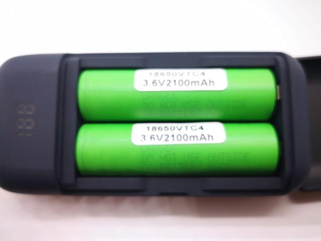 IMG 20180524 225703 thumb - 【レビュー】XTAR(エクスター) PB2 ポータブルパワーバンクチャージャー USB充電器/モバイルバッテリーのレビュー。18650バッテリー2本を使用可能なモバブー!!