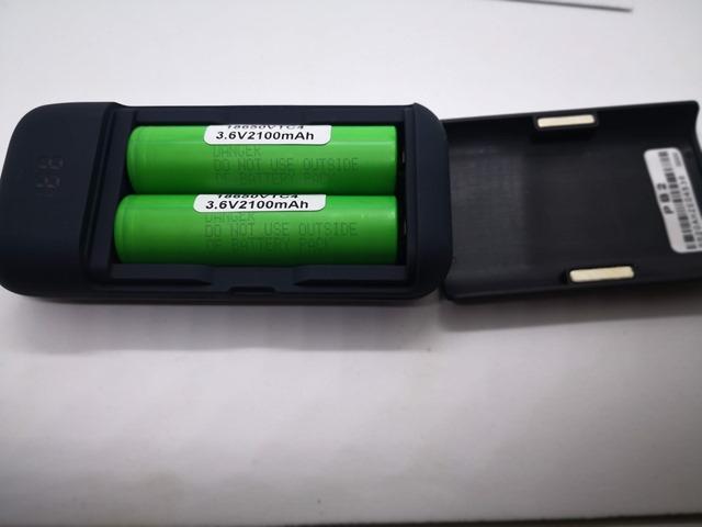 IMG 20180524 225707 thumb - 【レビュー】XTAR(エクスター) PB2 ポータブルパワーバンクチャージャー USB充電器/モバイルバッテリーのレビュー。18650バッテリー2本を使用可能なモバブー!!