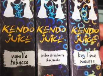 IMG 20180526 141336 thumb 343x254 - 【訪問日記】Vapor LemonさんでKENDO JUICEの新製品「vanilla tobacco」「golden strawberry cheesecake」「key lime mousse」吸ってきた!驚異のMODを見せてもらう。近々驚きの白さも...【簡易レビュー】