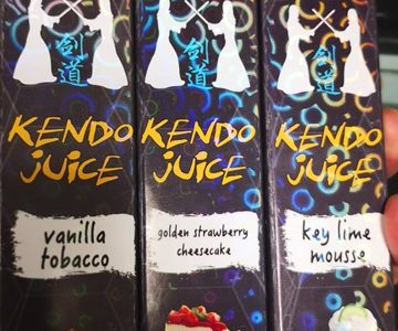 IMG 20180526 141336 thumb 360x300 - 【訪問日記】Vapor LemonさんでKENDO JUICEの新製品「vanilla tobacco」「golden strawberry cheesecake」「key lime mousse」吸ってきた!驚異のMODを見せてもらう。近々驚きの白さも...【簡易レビュー】