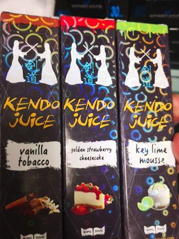 IMG 20180526 141336 thumb - 【訪問日記】Vapor LemonさんでKENDO JUICEの新製品「vanilla tobacco」「golden strawberry cheesecake」「key lime mousse」吸ってきた!驚異のMODを見せてもらう。近々驚きの白さも...【簡易レビュー】