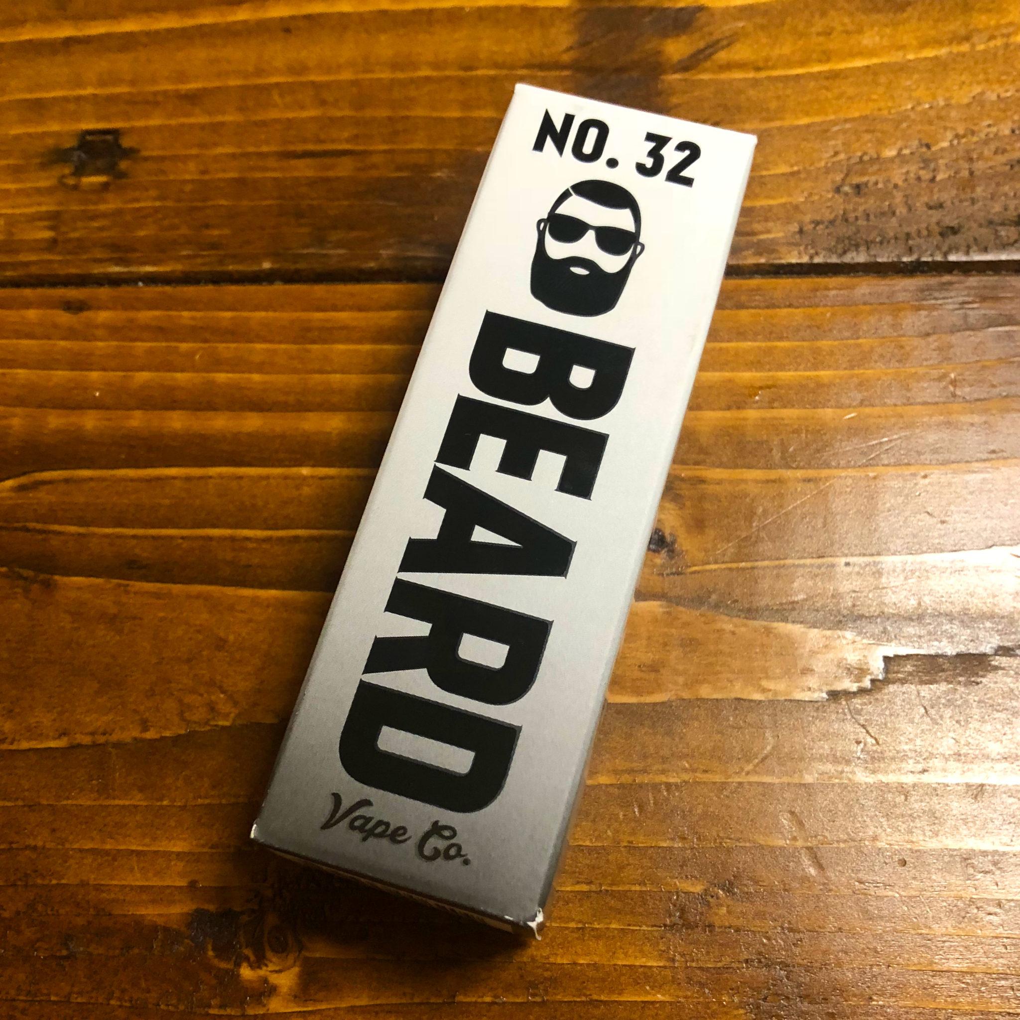 VP2 - 【レビュー】シナモン好きに贈る Beard Vape Co. 「No.32(ナンバー32)」~女子も好きなはず。スタメン入り確定のおやつ系リキッド~
