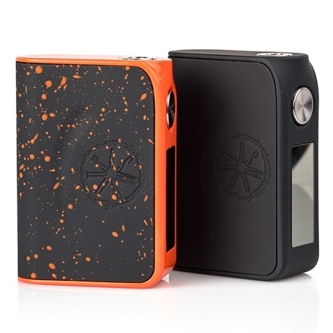 asmodus minikin reborn 168w tc box mod splatter orange and black thumb - 【レビュー】睡眠不足を解消できちゃうかもしれない!?(私だけ)ASMODUS MINIKIN Reborn(アスモダスミニキンリボーン)【アスモダス/MOD】