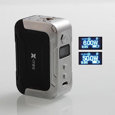 authentic ikarno x mini 50w 1500mah tc vw variable wattage box mod black zinc alloy 650w thumb - 【海外】「Ikarno X-Mini 50W 1500mAh」「Joyetech TEROS 480mAh」「Benecig Killer 260W」「Joyetech RFC Riftcore Duo RTA」