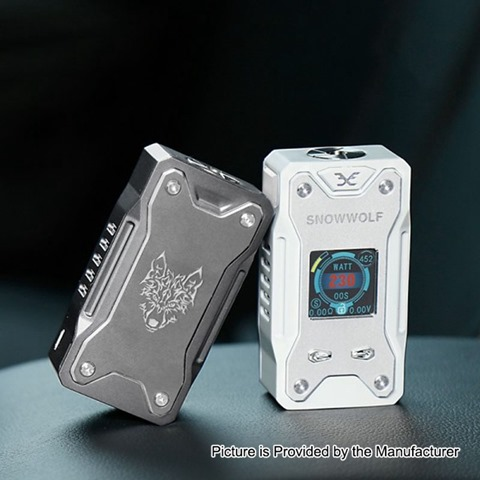authentic-snowwolf-xfeng-mod-high-class-version-230w-tc-vw-variable-wattage-box-mod-gun-metal-10230w-2-x-18650