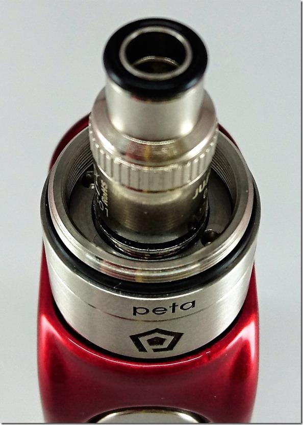 peta19 thumb - 【レビュー】「Peta Tank(ペタ タンク)」ハイエンドクリアロマイザー。FOG1コイルをもっと美味しく!【クリアロマイザー】