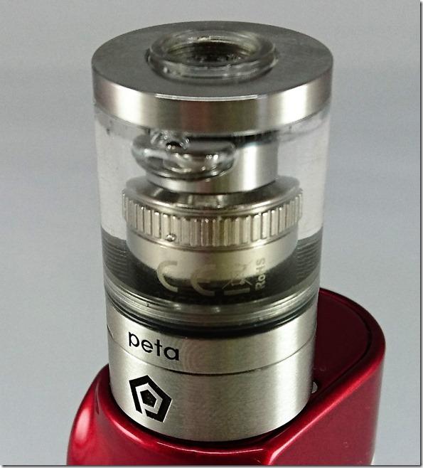 peta22 thumb - 【レビュー】「Peta Tank(ペタ タンク)」ハイエンドクリアロマイザー。FOG1コイルをもっと美味しく!【クリアロマイザー】