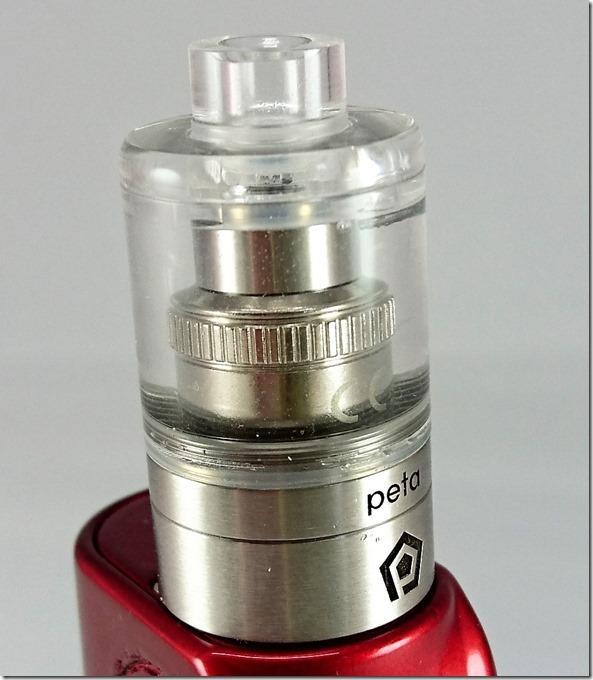 peta24 thumb - 【レビュー】「Peta Tank(ペタ タンク)」ハイエンドクリアロマイザー。FOG1コイルをもっと美味しく!【クリアロマイザー】