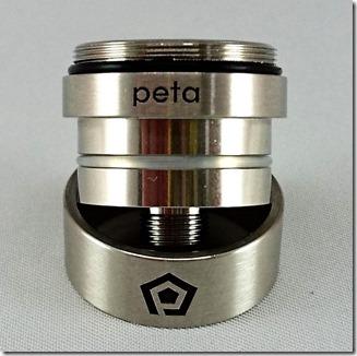 peta9 thumb - 【レビュー】「Peta Tank(ペタ タンク)」ハイエンドクリアロマイザー。FOG1コイルをもっと美味しく!【クリアロマイザー】