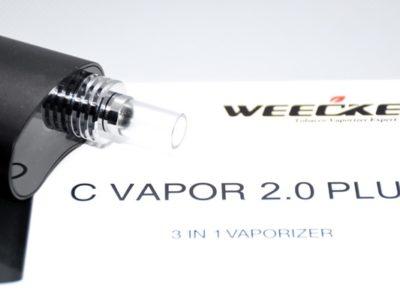 sbig DSC 1966 400x300 - 【レビュー】「C VAPOR 2.0 PLUS by WEECKE」悩むなら挑戦して欲しい。初体験ヴェポライザーに仰天! 【ヴェポナビ】