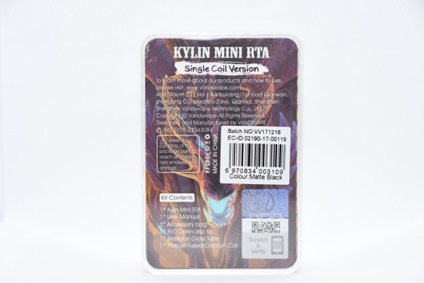 sbig DSC 2002 - 【レビュー】デッキのかっこよさが異常!ポチって待つこと2週間。首を長くして待った『KYLIN MINI RTA』by VANDY VAPE(一目惚れアトマイザー)