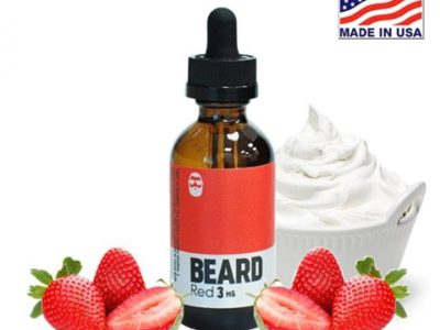 03150452 5aa97d8ed54a9 thumb 400x300 - 【リキッド】Beard Vape Co.より「BEARD Red」(ビアードレッド)リキッドレビュー。MADE IN USAでアメリカなクリーム&ストロベリーでハッピーVAPEライフ。