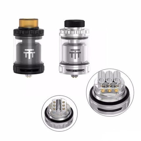100 original vandyvape triple 28 rta atomizer 1024x1024 thumb - 【海外】「Justfog C601 650mAh E-Cigarette Battery」「Eleaf Lexicon with ELLO Duro PMMA Kit 6.5ml」「Arctic Dolphin Rexx RDA」「Vandy Vape Triple Ⅱ RTA」