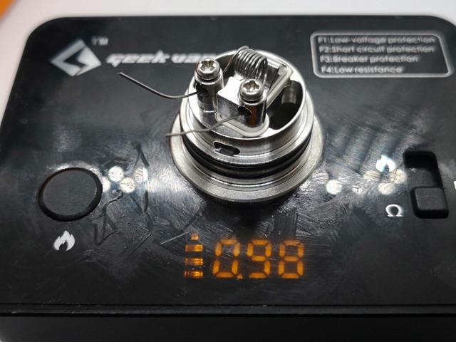 IMG 20180610 203449 thumb - 【レビュー】「GEEKVAPE AMMIT MTL RDA日本限定モデル」発売決定!超MTLフレーバーチェイス&特別コットン同梱!?美味しすぎてアキ〇スクラス