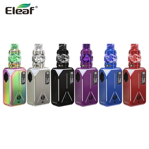 Original Eleaf Lexicon with 6 5ML ELLO Duro Pmma Tank Kit Electronic Cigarette Vape 235W Lexicon 640x640 thumb - 【海外】「Justfog C601 650mAh E-Cigarette Battery」「Eleaf Lexicon with ELLO Duro PMMA Kit 6.5ml」「Arctic Dolphin Rexx RDA」「Vandy Vape Triple Ⅱ RTA」
