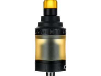 authentic 3cvape savour mtl rta rebuildable tank atomizer black stainless steel 2ml 22mm diameter thumb 400x300 - 【海外】「Eleaf iJust 3 3000mAh 80W」「3CVAPE Savour MTL RTA」「Laisimo Spring 200W」「Desire Cut 108W TC VW Variable Wattage Squonk Box Mod」