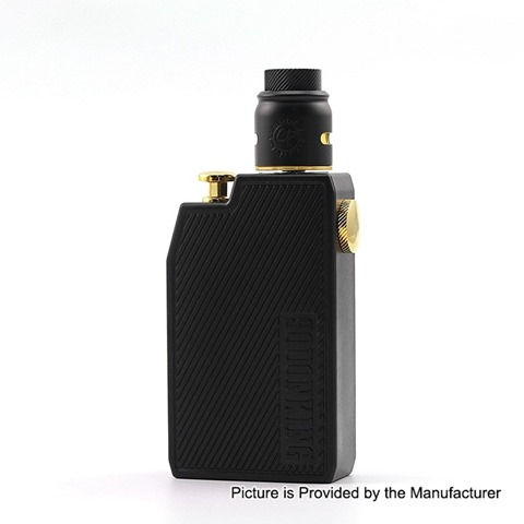 authentic advken cp squonk mechanical box mod rda kit black 1 x 18650 7ml thumb - 【海外】「Advken Manta MTL RTA(簡易レビュー)」「Thunderhead Creations THC Proto RTA」「CKS Fujin 24 Hybrid Mechanical Mod」