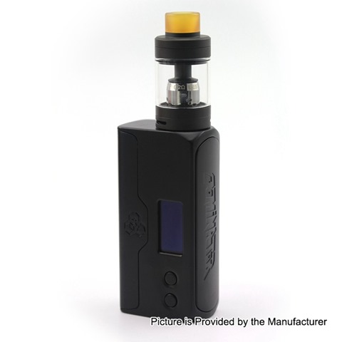 authentic advken dominator 100w tc vw box mod tank starter kit w rba deck black 5100w 1 x 18650 20700 21700 45ml thumb - 【海外】「Advken Manta MTL RTA(簡易レビュー)」「Thunderhead Creations THC Proto RTA」「CKS Fujin 24 Hybrid Mechanical Mod」