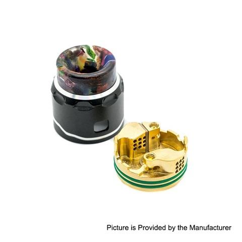 authentic asmodus c4 rda rebuildable dripping atomizer w bf pin black stainless steel aluminum 24mm diameter 1 thumb - 【海外】「CoilART Mage SubTank Clearomizer」「Asmodus C4 RDA」「BENECIG Killer 260W Mechanical Mod」「Velax X6 Vaporizer」