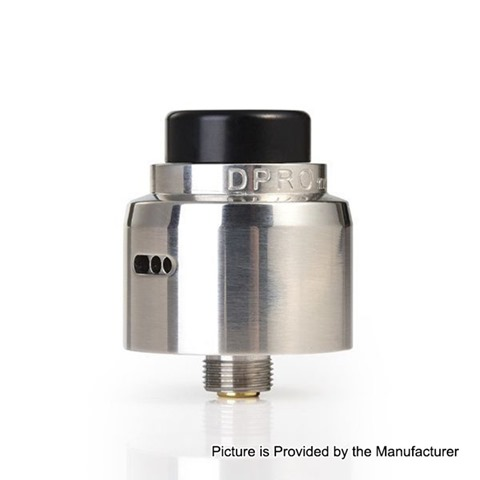authentic coilart dpro mini rda rebuildable dripping atomizer w bf pin silver stainless steel 22mm diameter thumb - 【海外】「Eleaf iJust 3 3000mAh 80W」「3CVAPE Savour MTL RTA」「Laisimo Spring 200W」「Desire Cut 108W TC VW Variable Wattage Squonk Box Mod」