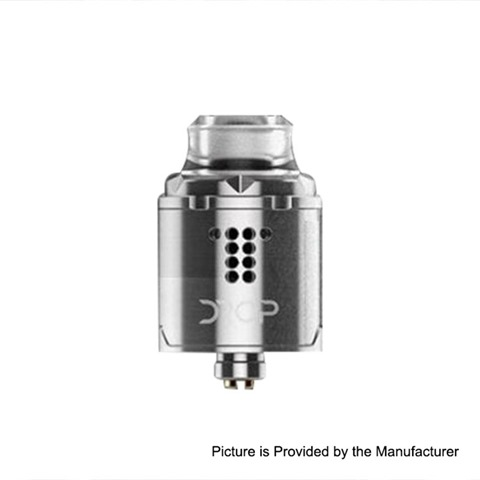 authentic digiflavor drop solo rda rebuildable dripping atomzier w bf pin silver stainless steel 22mm diameter thumb 1 - 【海外】「Hotcig R-AIO 80W TC VWスターターキット」「VGME DPS75 75W TC VW Variable Wattage Box Mod」「Digiflavor Drop Solo RDA」