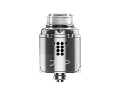 authentic digiflavor drop solo rda rebuildable dripping atomzier w bf pin silver stainless steel 22mm diameter thumb 400x300 - 【海外】「Hotcig R-AIO 80W TC VWスターターキット」「VGME DPS75 75W TC VW Variable Wattage Box Mod」「Digiflavor Drop Solo RDA」