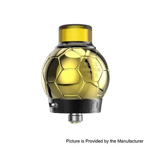 authentic fumytech ballon rda rebuildable dripping atomizer w bf pin gold stainless steel 35ml 327mm diameter thumb - 【海外】「CoilART Mage SubTank Clearomizer」「Asmodus C4 RDA」「BENECIG Killer 260W Mechanical Mod」「Velax X6 Vaporizer」