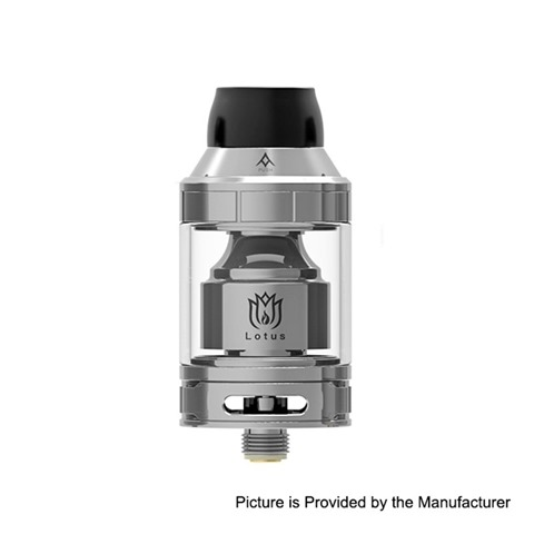 authentic hugsvape lotus rta rebuildable tank atomizer silver stainless steel 2ml 5ml 24mm diameter thumb - 【海外】「Lost Vape Triade DNA250C 300W」「Steam Crave Glaz RDSA」「Steam Crave Glaz RTA」「Steam Crave Titan PWM MOD」
