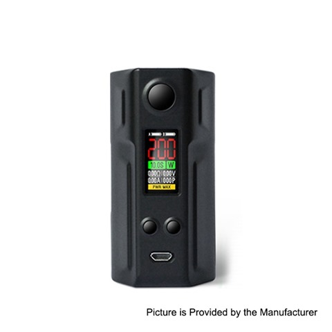 authentic laisimo spring 200w tc vw variable wattage box mod black plastic 5200w 2 x 18650 thumb - 【海外】「Eleaf iJust 3 3000mAh 80W」「3CVAPE Savour MTL RTA」「Laisimo Spring 200W」「Desire Cut 108W TC VW Variable Wattage Squonk Box Mod」