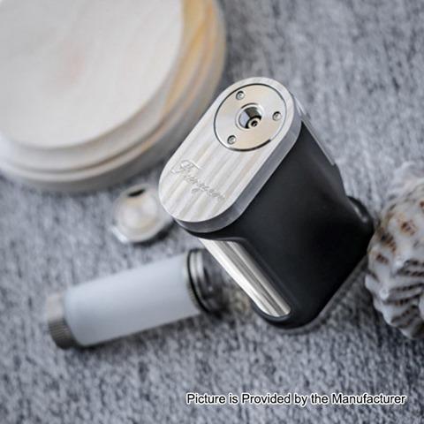 authentic lost vape furyan squonk mechanical box mod black silver pei 9ml 1 x 18650 20700 21700 thumb - 【海外】「Ystar Nuwa RDA」「Vandy Vape Berserker 1100mAh Mod + Berserker Subtank MTLスターターキット」「RISCLE PIRATE KING RTA」