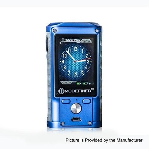 authentic modefined draco 200w tc vw variable wattage box mod blue zinc alloy g10 5200w 2 x 18650 thumb - 【海外】「Eleaf iStick Pico Squeeze 2 100W Squonk Kit with Coral 2 RDA 4000mAh」「VXV X RDA」「Q1 8-bit Mini Portable Retro Classic Handheld Game Console」