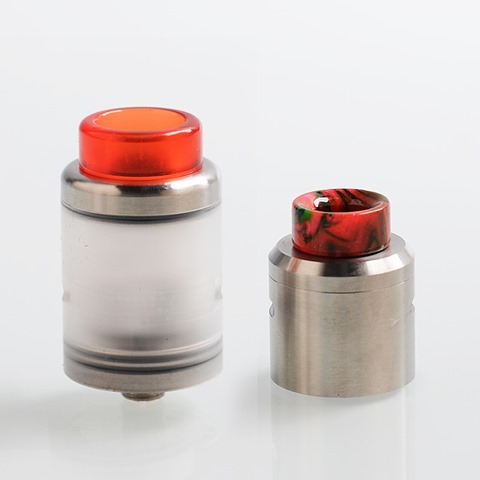 authentic one top rta rebuildable tank atomizer silver stainless steel pc 3ml 24mm diameter thumb - 【海外】「One Top RTA」「Horizon Falcon Sub Ohm Tank Clearomizer」「VBRVAPE 900mAh Pod System Starter Kit」