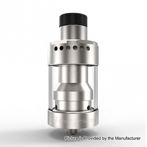 authentic thunderhead creations hexagram rdta rebuildable dripping tank atomizer silver stainless steel 25ml 22mm diameter thumb - 【海外】「Advken Manta MTL RTA(簡易レビュー)」「Thunderhead Creations THC Proto RTA」「CKS Fujin 24 Hybrid Mechanical Mod」