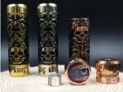 khuk67i657iy7i thumb 400x300 - 【海外】「Ystar Nuwa RDA」「Vandy Vape Berserker 1100mAh Mod + Berserker Subtank MTLスターターキット」「RISCLE PIRATE KING RTA」