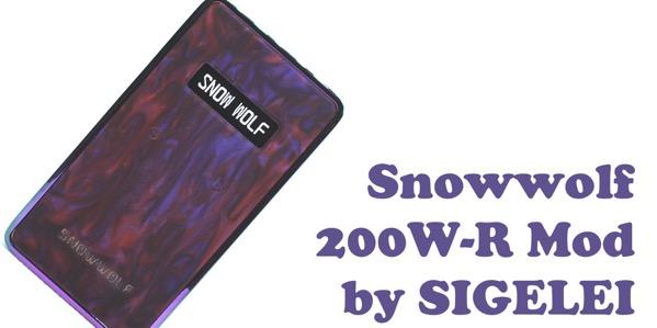 oDSC 3352 - 【レビュー】『Snowwolf 200W-R Mod by SIGELEI(シグレイ・スノウウルフ)』「俺のVAPEはちょっと違うぜ・・・!」って自慢したい人のための〝卒倒するほど〟エレガントなテクニカルデュアルバッテリーMODのご紹介。
