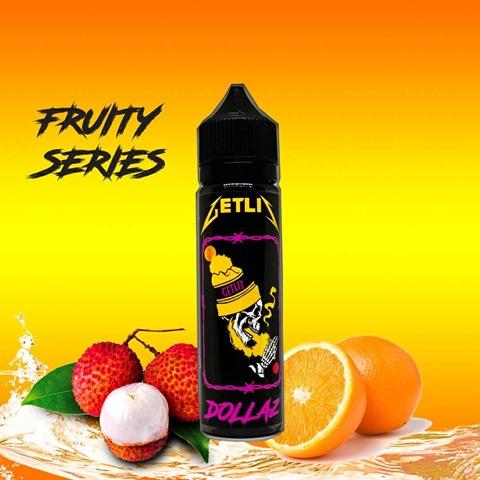 2 000000001699 thumb - 【リキッド】GET LIT「DOLLAZ」(ドラズ)マレーシア産のオレンジ&ライチと清涼剤のリキッド。スッキリとした味わいは夏の気分に最高!うま味リキ。