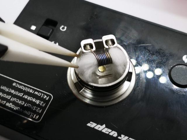 IMG 20180710 173500 thumb - 【レビュー】Digiflavor Drop Solo RDA(デジフレーバードロップソロRDA)。片側ベロデッキで使いやすいシングルドリッパー!!Designed by TVC
