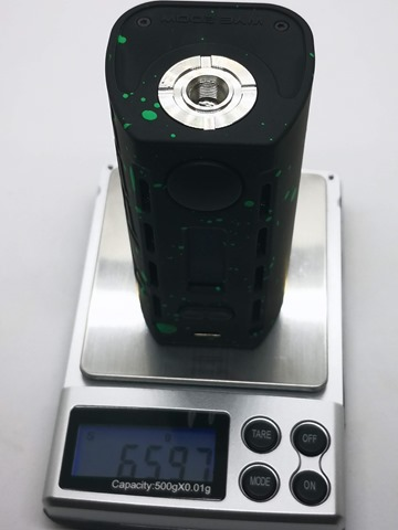 IMG 20180712 202719 thumb - 【レビュー】「Teslacigs WYE 200W MOD」超軽量デュアルバッテリーMODで長持ちイベント安心生活。